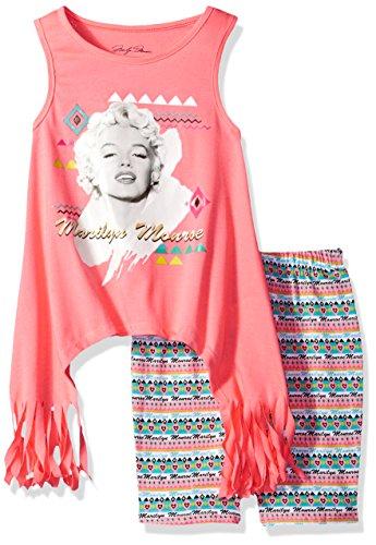 Marilyn Monroe Big Girls' Fashion Bike Short Set,