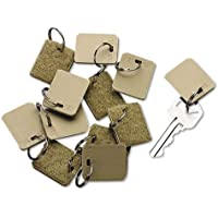 SecurIT - Extra Blank Velcro Tags, Velcro Security-Backed, 1 1/8 x 1, Beige, 12/Pack 04985 (DMi PK