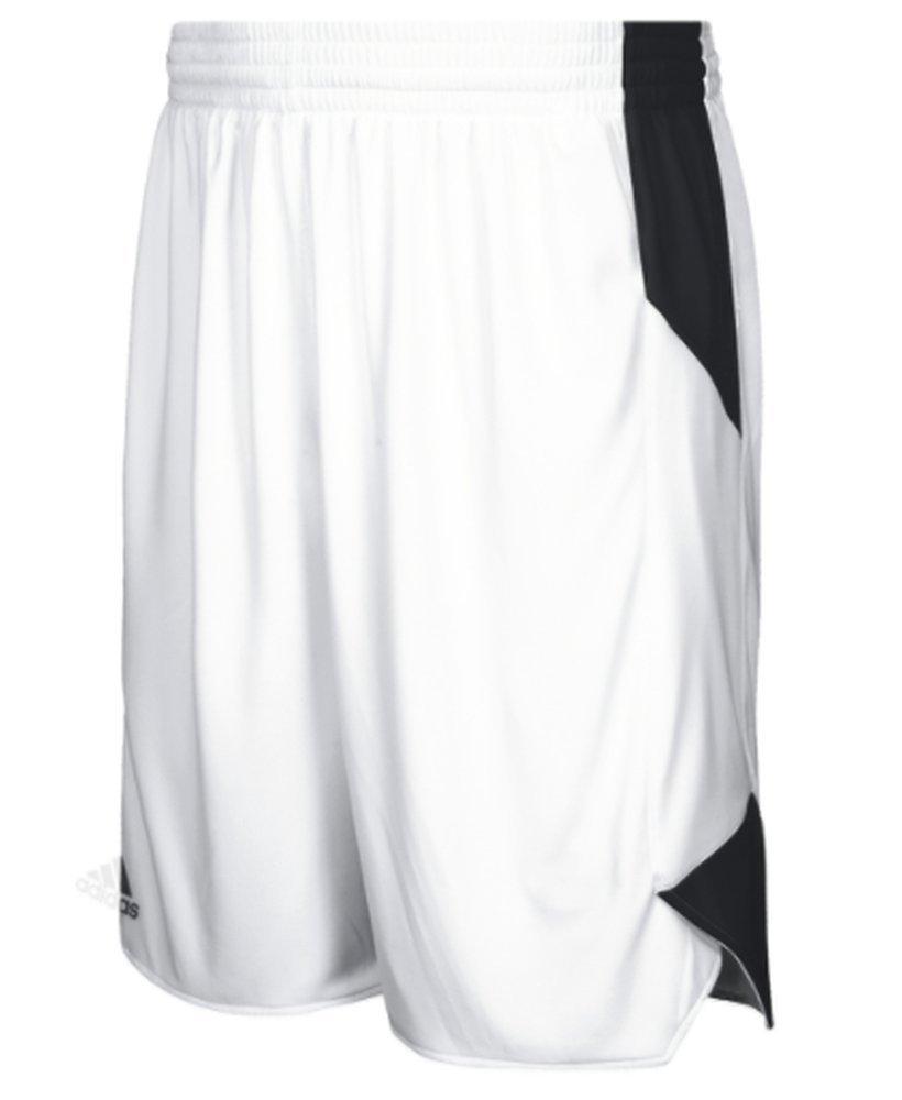 adidas Crazy Explosive Short Kid's Basketball M White-Black by adidas