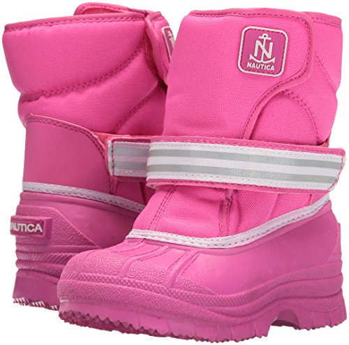 Pictures of Nautica Girls' Port Snow Boot Pink 10 3E280AJL Pink 10 M US Toddler 4
