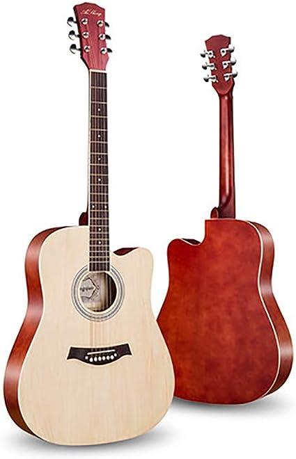 Guitarra clásica para niños Kids 41 pulgadas de chapa Principiante guitarra sola cara niños y niñas Entrada Piano Práctica de la guitarra acústica Guitarra Clásica Principiante (Color : B): Amazon.es: Instrumentos musicales