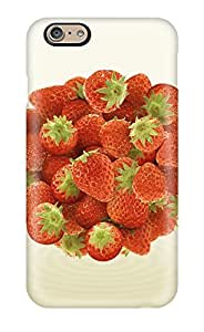 High-quality Durable Protection Case For Iphone 6(strawberry Food Strawberry)