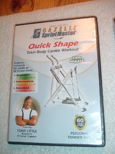 Tony Little's Gazelle Sprint Master Quick Shape,