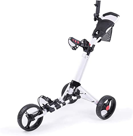 YUHT Carro de Golf Plegable Carta de Golf Trolley de 3 Ruedas ...
