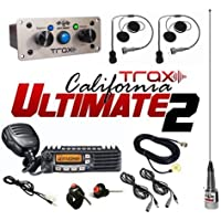 PCI Race Radios Trax California Ultimate 2 Seater Communication Kit
