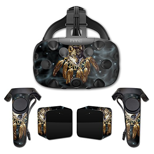 MightySkins Skin For HTC Vive Full Coverage - Wolf Dreams | Protective, Durable, and Unique Vinyl Decal wrap cover | Easy To Apply, Remove, and Change Styles | Made in the USA by MightySkins