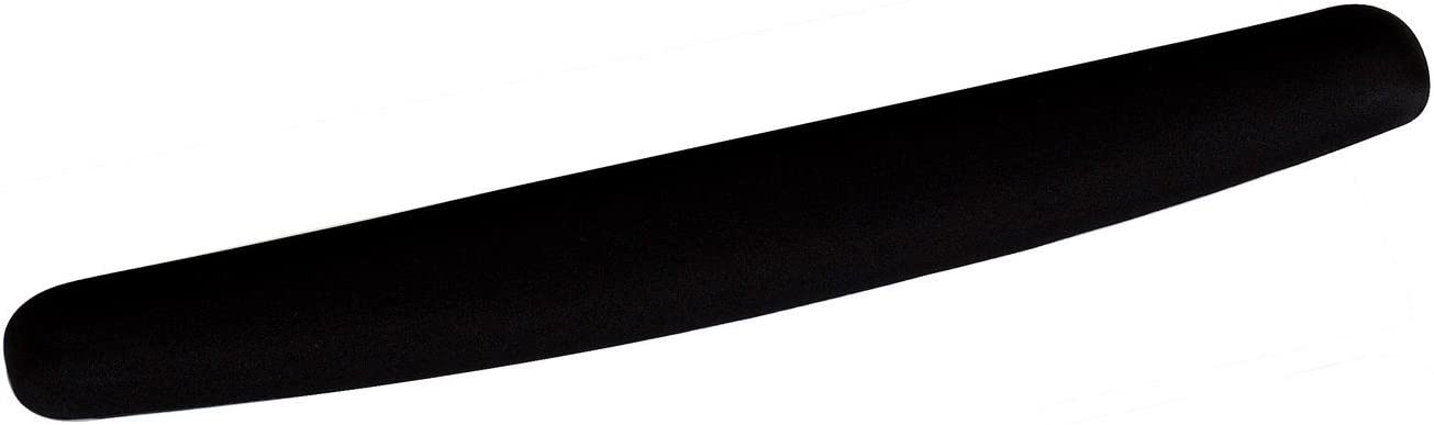 3M Foam Wrist Rest, Black, Antimicrobial Product Protection (WR209MB)