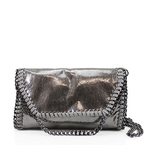 Work Cross Detail Designer YDezire® Ladies Body bag Chain New Womens Bag Shoulder Silver wwCqAxZvg