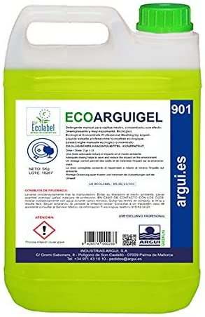 Ecoarguigel Arguigreen Line Lavavajillas manual concentrado ...