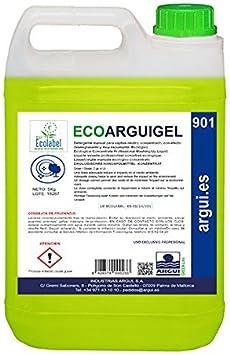 Ecoarguigel Arguigreen Line Lavavajillas manual concentrado profesional, 5 L