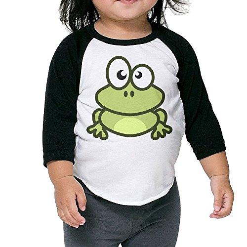 Lisenict Cute Cartoon Frog Children Essential Tshirt Size2 Toddler