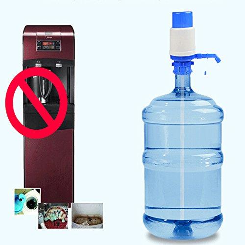 ... Water Dispenser Bottled Drinking Hand Pressure Pump // Bomba de presión dispensador de la bebida embotellada mano 19 * 7cm agua: Health & Personal Care