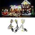 BRIKSMAX Kit di Illuminazione a LED per Lego Ninjago City, Compatibile con Il Modello Lego 70620 Mattoncini da…  LEGO