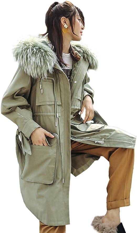 Abrigos Chaqueta para Mujer Chaqueta de Pike Verde, sección Larga ...