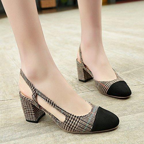 un bold header di scarpe con Sandali 38 scarpe i alti color con unico tacchi incantesimo kaki romano pacchetto yalanshop 4z0w7BnxqB
