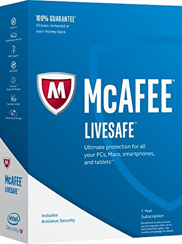 McAfee 2017 LiveSafe Key Code