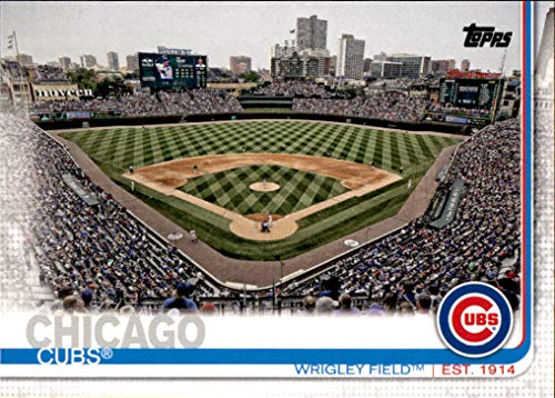 2019 Topps #197 Wrigley Field CHICAGO CUBS