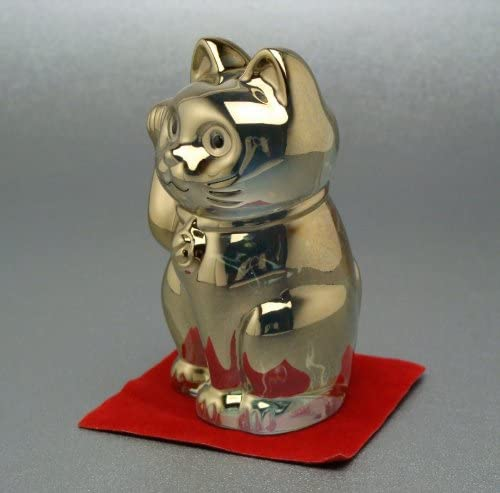Baccarat Lucky Cat, Gold