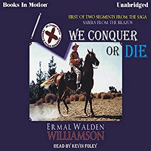 We Conquer or Die Audiobook