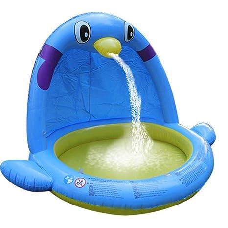 AMWFFYC - Piscina Hinchable para niños en Spray para el Verano ...