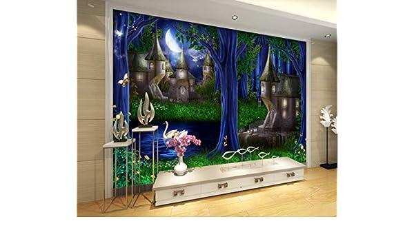 Mural 3D Decoración Interior Sala De Estar Dormitorio Fondo Pared ...