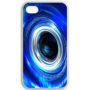 Diy Yourself Apple Apple iPhone 4 4S case covers Customized Gifts Fors 3D Graphics Blue Water Drop 3d D Black