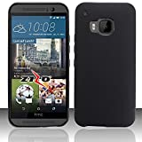 Cell Accessories For Less (TM) For HTC One M9 - TPU Cover - Black TPU + Bundle (Stylus & Micro Cleaning Cloth) - By TheTargetBuys