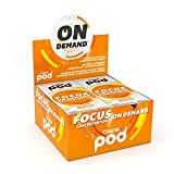 Chewpod Focus On Demand | Functional Gum | Focus Nootropic Supplement | Made with Caffeine and Rhodiola Rosea Roseroot | Perfect for Improving Memory and Clarity | Relief for Stress and Anxiety