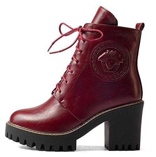 Cheville Bloc Femme Easemax Boots Low Bottines Mode Talon S4wq8I