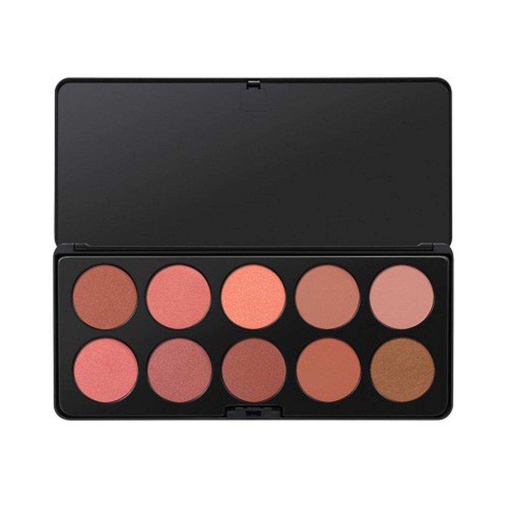 Amazon Com Bhcosmetics 10 Color Blush Palette Beauty