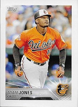 87b1db69f6c Amazon.com  2018 Topps Stickers  58 Adam Jones Baltimore Orioles ...