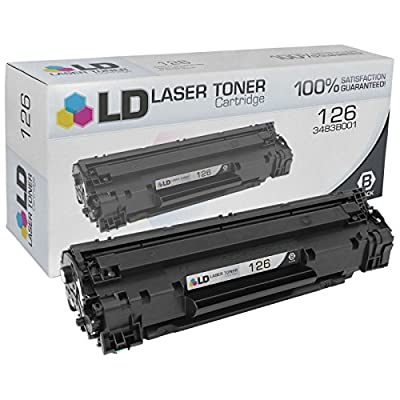 LD Compatible Canon 126 3483B001 Black Toner Cartridge for use in the ImageClass LBP6200d & LBP6230dw Printers