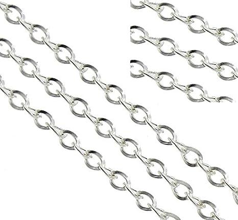 Oval Gliederkette Link Kette Kunststoffkette Perlin 3 Meter Panzerkette 19mm Bunte C Clips Schmuckkette zur Schmuckherstellung von Schmuck Machen Halsketten Armband DIY Basteln