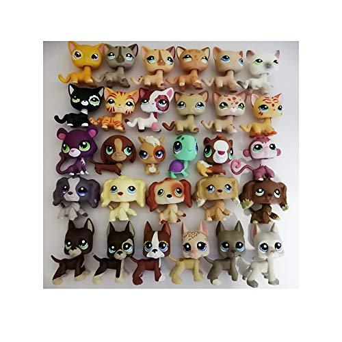 jjlin 100% Original Random 5PCS/Bag Mini Pet Shop Lot Girl Rare Loose  Figures Child Toy Gift