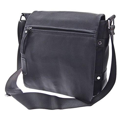 TASCHE Raumwunder die perfekte Citytasche Arbeitstasche Herren Umhängetasche Schulter Tasche Messenger Bag Neu