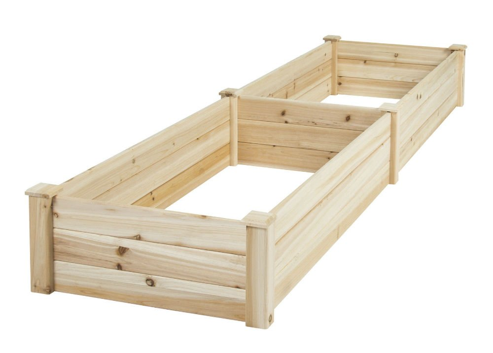 Vegetable Raised Garden Bed Patio Backyard Grow Flowers elevated Planter by Unknown (Image #2)