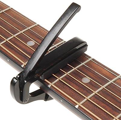 Newin Star - Cejilla para Guitarra Acústica y Eléctrica, cejilla ...