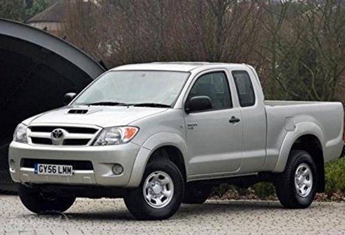 Amazon.com: NEW Chrome Hood Scoop Turbo Cover Fits Toyota Hilux Vigo Sr5 Mk6 2005-2010 06 07 08 09: Automotive