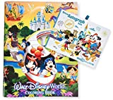 Walt Disney World Four Parks Mickey Mouse Official Autograph Book and 96 Page Coloring Book