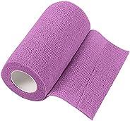 Cotton Elastic Bandage - Latex-Free Compression Bandage, Free-Winding Bandage, Elastic Knee Pad Sports Bandage