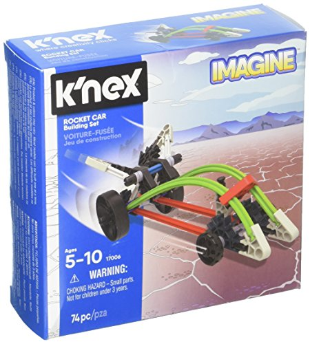 K'NEX – Rocket Car Building Set 74 Pieces For Ages 5+ Construction Education Toy