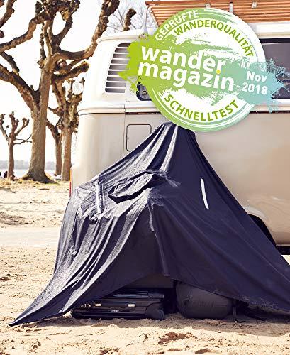 512rVZd%2B2hL alpenmüller® Regenponcho Fahrrad Damen Herren Regencape | Der Testsieger für Outdoor Ausrüstung + Camping Gadget Die…