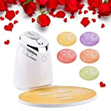 Facial Mask Maker - MS.DEAR Facial Mask Maker Machine, Collagen Fruit Vegetable DIY Automatic Face Mask Making, with 32 Counts Collagen Pills