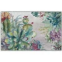 Brumlow Mills EW10334-20x34 Succulent Garden Kitchen and Entryway Floral Rug, 18 x 210