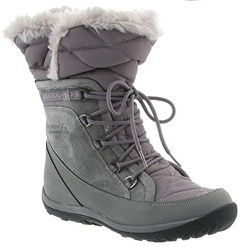 Weather Cold Boots Fashion - BEARPAW Womens Whitney Closed Toe Mid-Calf Cold Weather Boots, Grey Ii, Size 9.0
