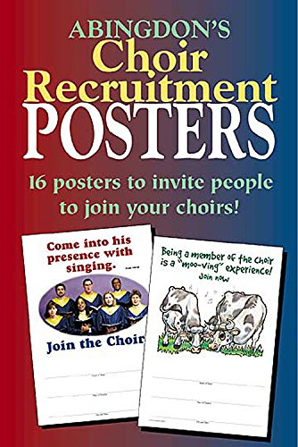 Abingdon Choir Recruitment Posters