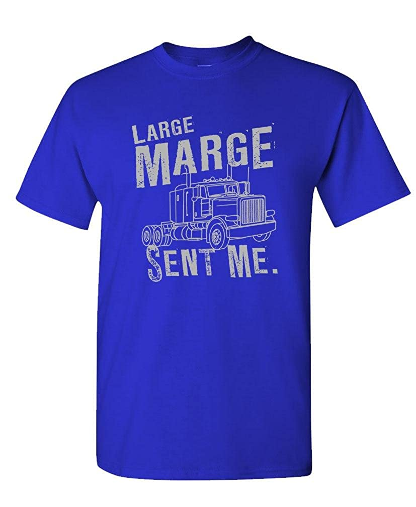 64ca9fd90 Amazon.com: Guacamole Large Marge Sent ME - Peewee Retro Movie - Mens  Cotton T-Shirt: Clothing