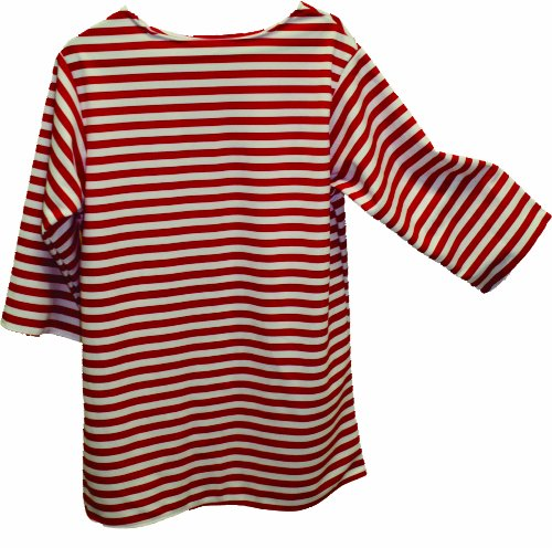 Alexanders Costumes Striped Shirt, Red, Medium ()