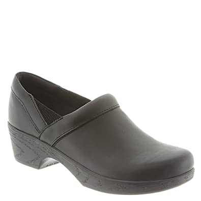 Klogs Women's Portland Clog: Black/KPR 5 Wide (E) Slip-on