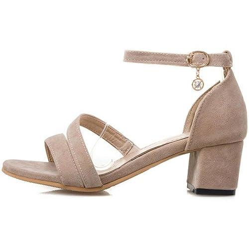 Onewus Modische Sandalen Damen, Schwarz (Beige), 45 EU   27.5 cm   Amazon.de  Schuhe   Handtaschen 7891a81b37